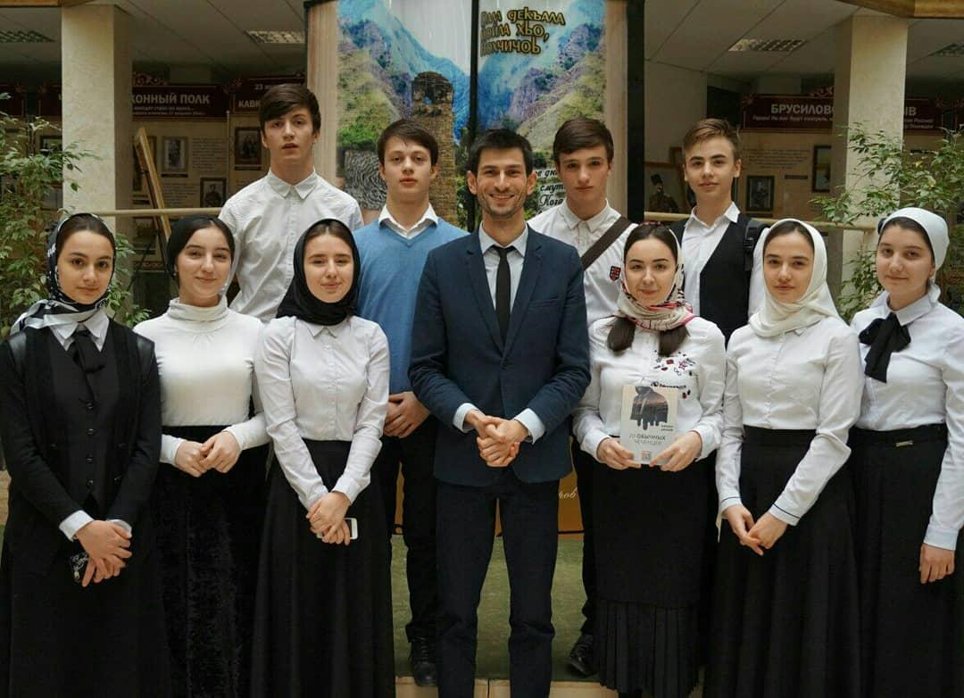 «20 обычных чеченцев» презентовали в Грозном